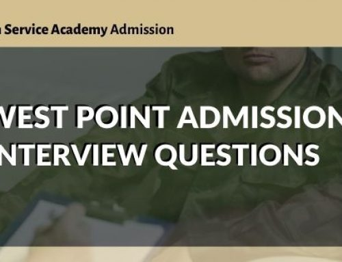 West Point Admissions Interview Questions