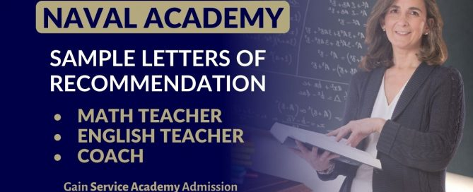 Naval Academy Recommendation Letter Samples Blog Post Graphic