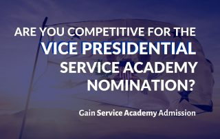 Are You Competitive for the Vice Presidential Service Academy Nomination Blog Post Graphic