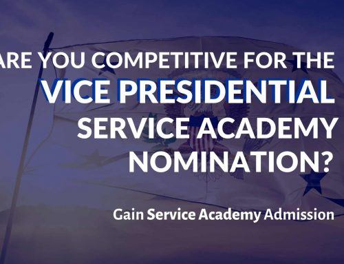 Are You Competitive for the Vice Presidential Service Academy Nomination?